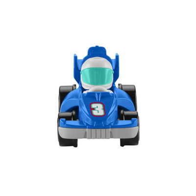 FISHER-PRICE LITTLE PEOPLE NEW WHEELIES FORDON - BLÅ