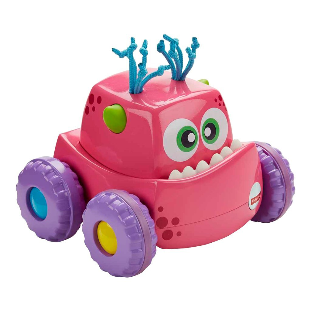 FISHER-PRICE PRESS'N GO - FARTMONSTER - PINK