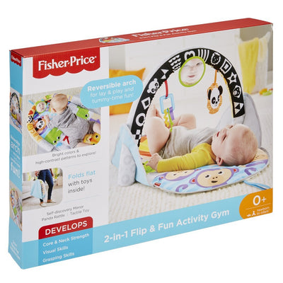 FISHER-PRICE 2 IN 1 FLIP & FUN ACTIVITY GYM - AKTIVITETSGYM