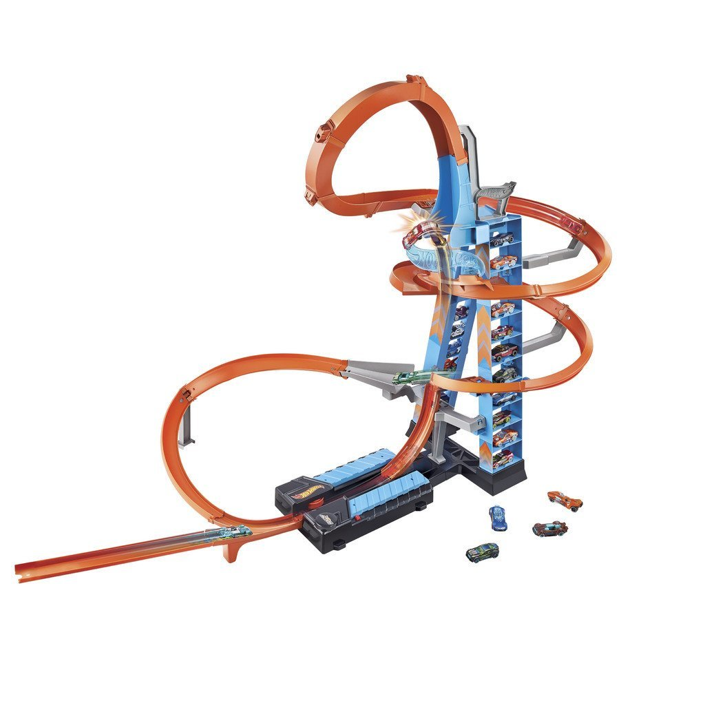 HOT WHEELS BILBANA SKY CRASH TOWER