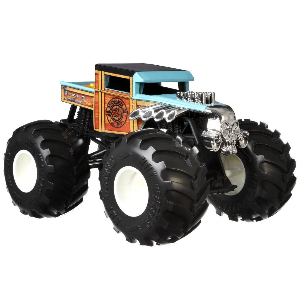 HOT WHEELS BIL MONSTER TRUCKS BONESHAKER