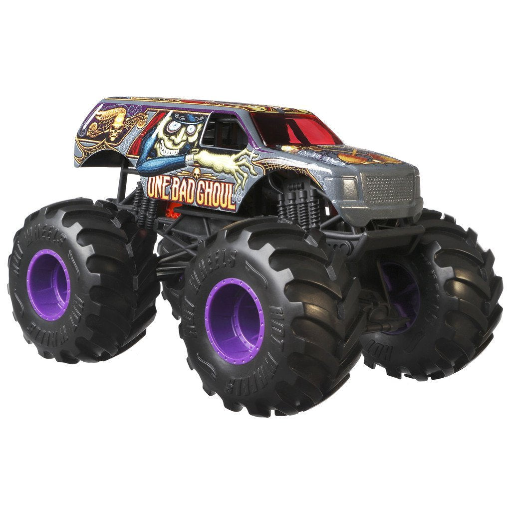 HOT WHEELS  BIL MONSTER TRUCKS ONE BAD GHOUL