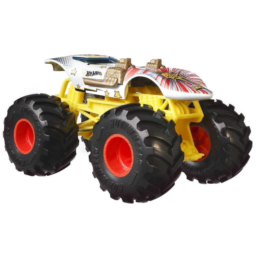 HOT WHEELS  BIL MONSTER TRUCKS TWIN WILL
