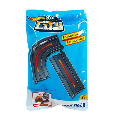 HOT WHEELS CITY TRACK PACK KURVA OCH RAK BANDEL