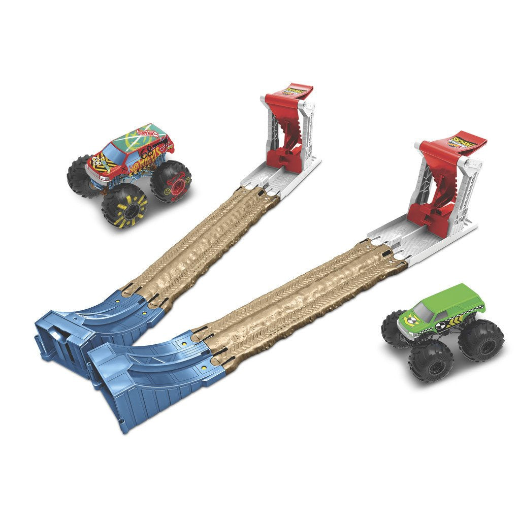 HOT WHEELS MONSTER TRUCKS BILBANA - DOUBLE DESTRUCTION LEKSET