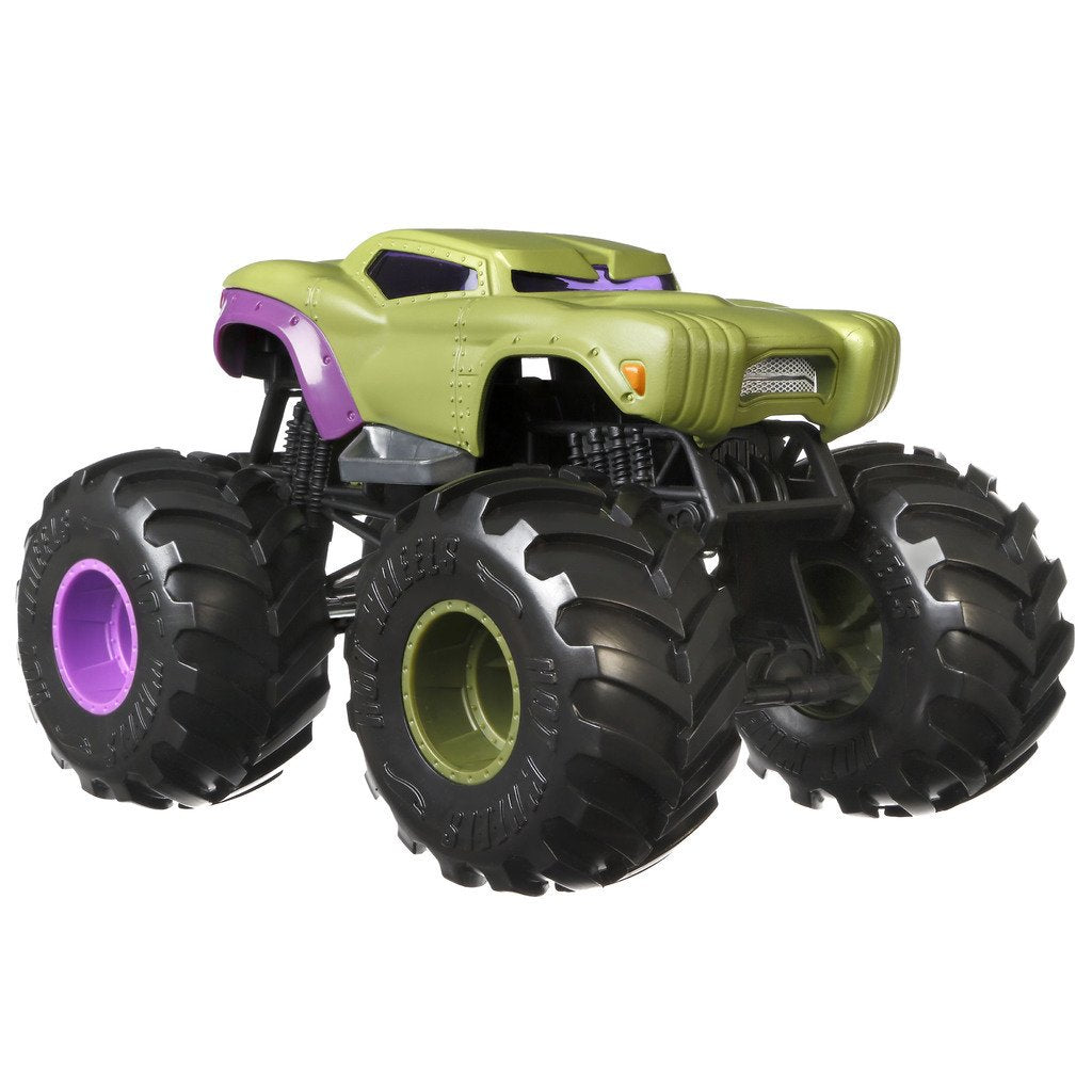 HOT WHEELS BIL MONSTER TRUCKS MARVEL HULK