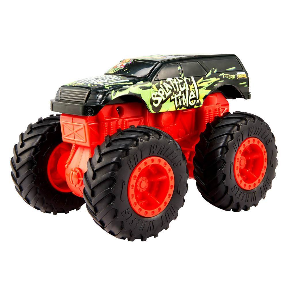 HOT WHEELS MONSTER TRUCK BASH UPS SPLATTER TIME