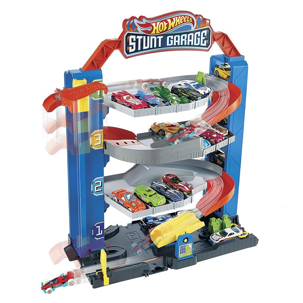 HOT WHEELS PARKERINGSHUS STUNT GARAGE