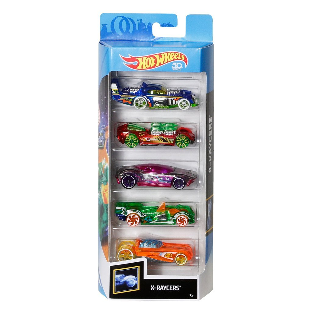 HOT WHEELS BILSET 5 PACK