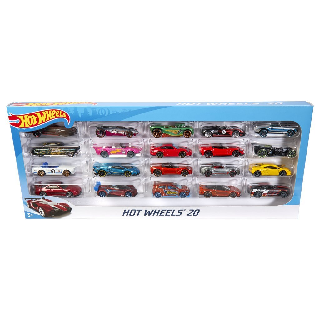 HOT WHEELS BIL 20 PACK