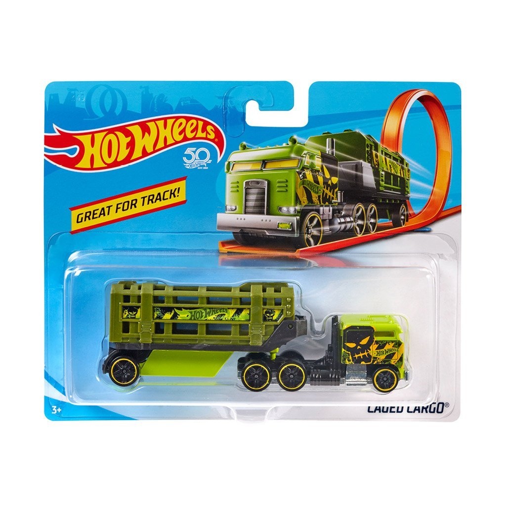 HOT WHEELS TRACKING TRUCK - LÅNGTRADARE