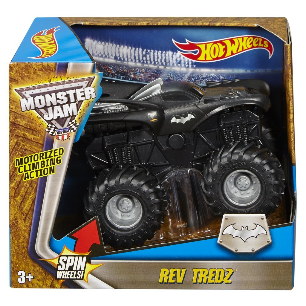 HOT WHEELS REV TREDZ MONSTERBIL BATMAN
