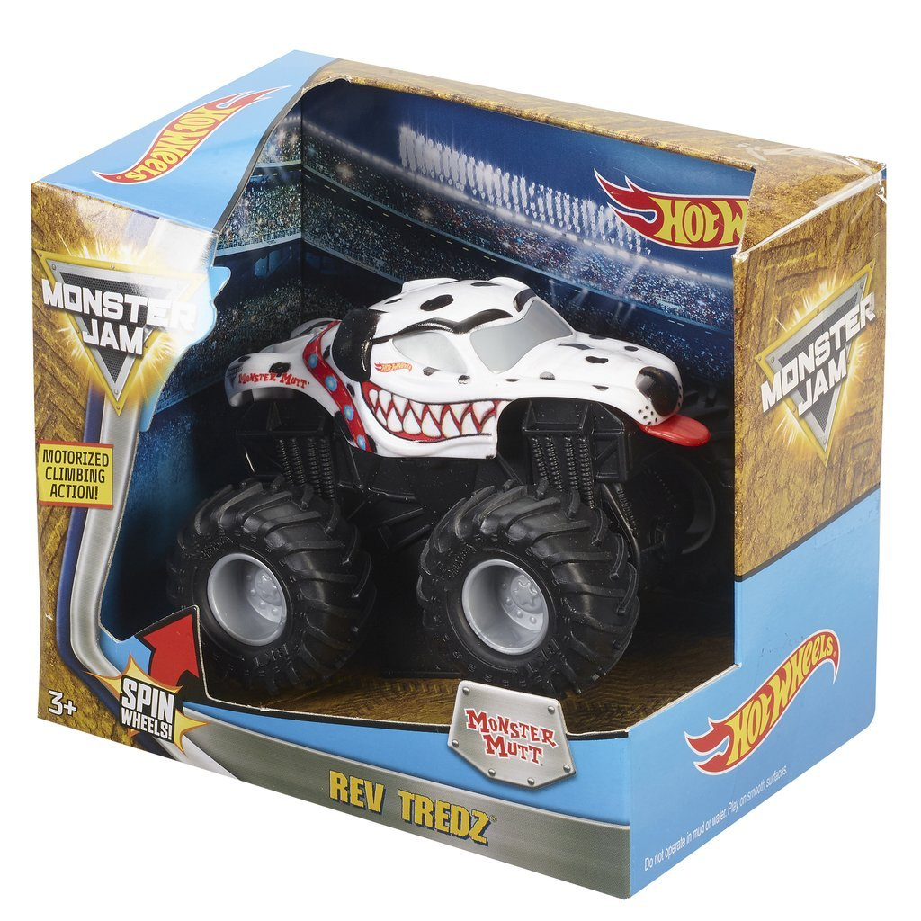 HOT WHEELS REV TREDZ MONSTERBIL MONSTER MUTT