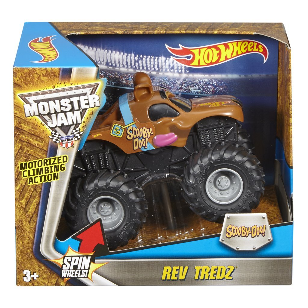 HOT WHEELS REV TREDZ MONSTERBIL SCOOBY DOO