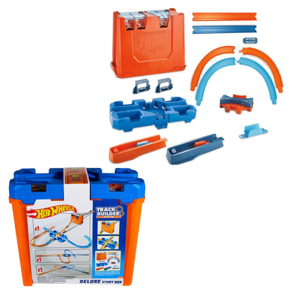 HOT WHEELS TRACK BUILDER BILBANA DELUXE STUNT BOX