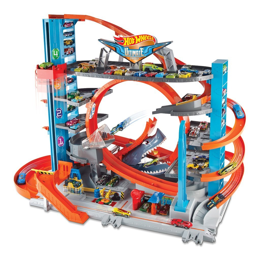HOT WHEELS PARKERINGSHUS ULTIMATE MEGA GARAGE