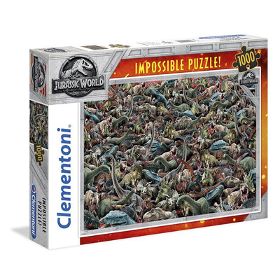 IMPOSSIBLE PUSSEL 1000 BITAR JURASSIC WORLD