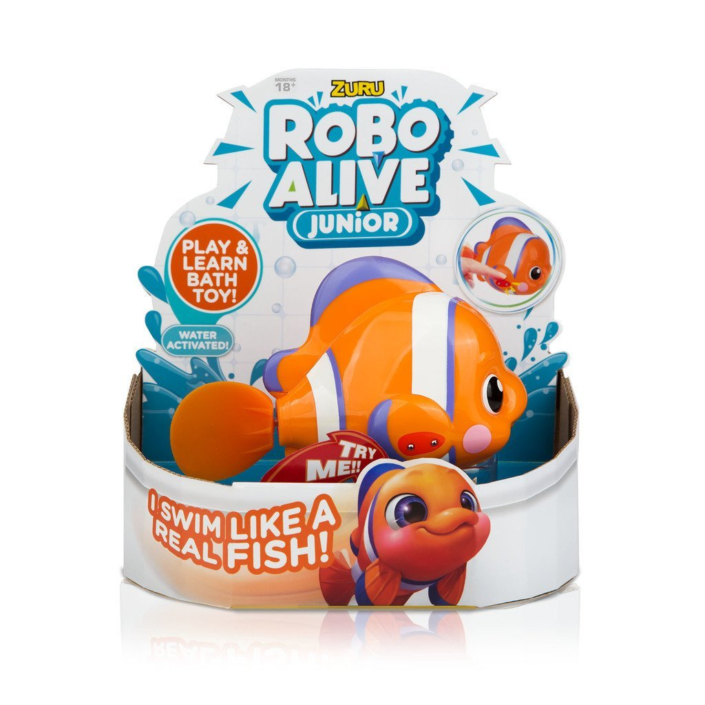 BADLEKSAK ROBO ALIVE JUNIOR FISK