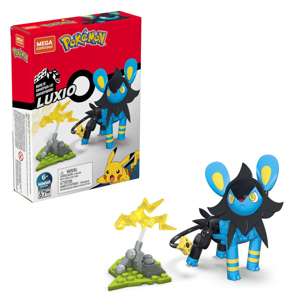 MEGA CONSTRUX POKEMON POWER PACK - LUXIO
