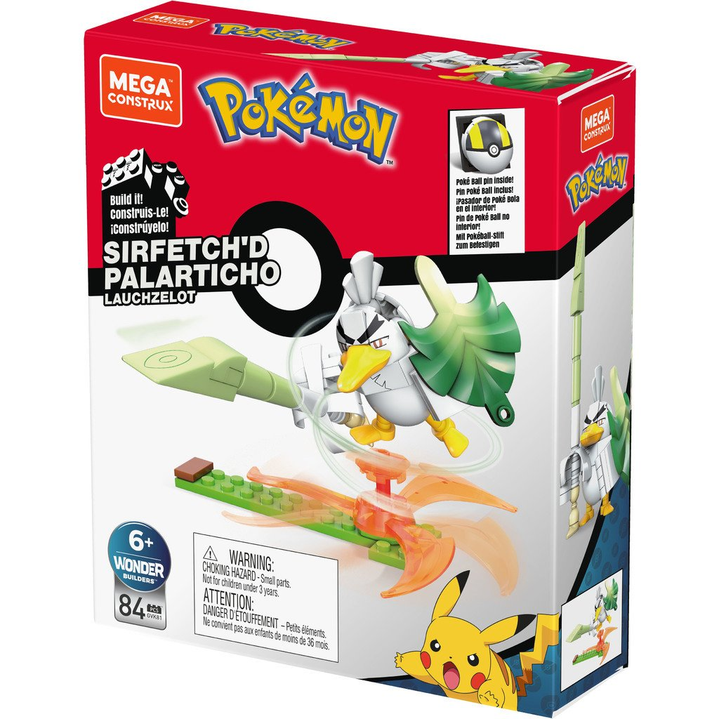 MEGA CONSTRUX POKEMON POWER PACK - SIRFETCH'D PALARTICHO
