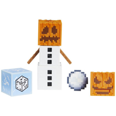 MINECRAFT COMIC MAKER FIGUR - SNOW GOLEM
