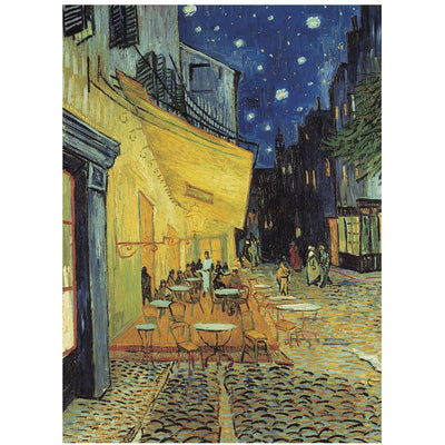 PUSSEL 1000 BITAR VAN GOGH CAFE TERRACE AT NIGHT