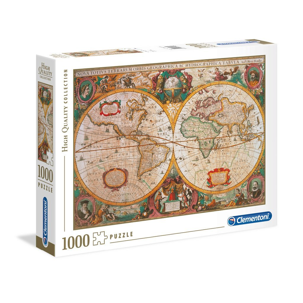 PUSSEL 1000 BITAR OLD MAP
