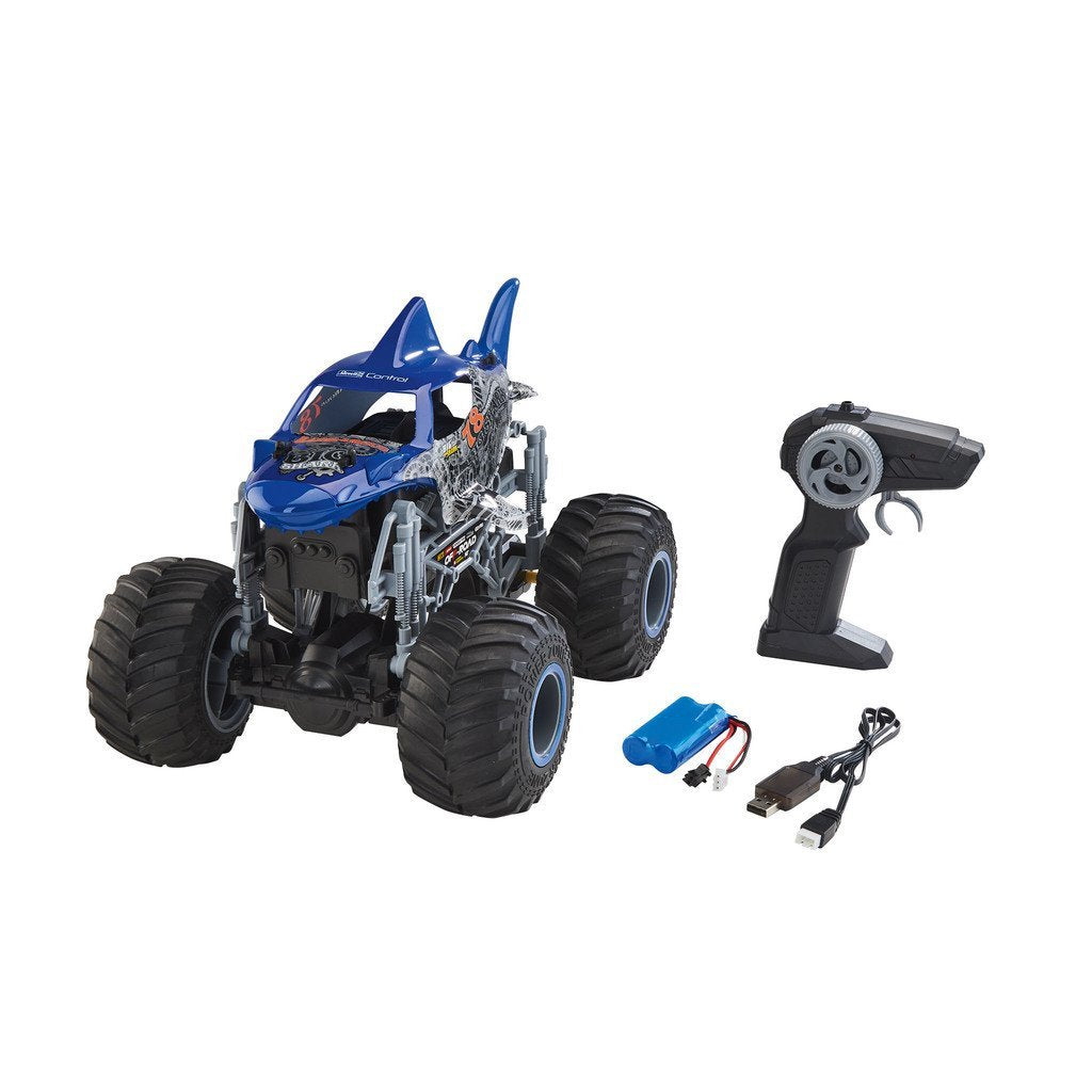 REVELL RADIOSTYRD RC BIL MONSTER TRUCK BIG SHARK