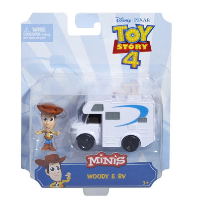 TOY STORY 4 WOODY MINIFIGUR MED HUSBIL