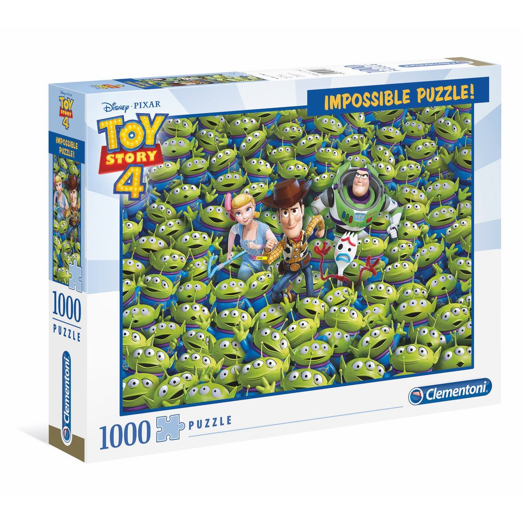 IMPOSSIBLE PUSSEL 1000 BITAR - TOY STORY 4