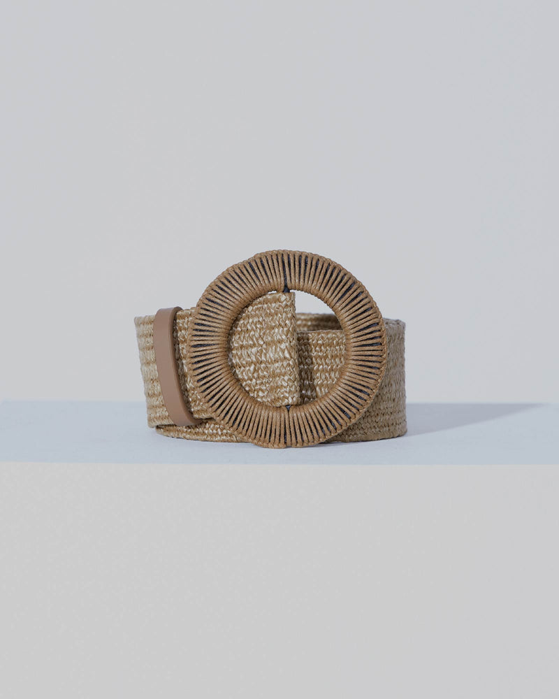 Loom Weaver Belt in Sand-belts-Love Style Co | Ladies Fashion Online