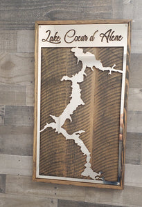 Lake Coeur d'Alene Wall Art