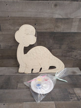 Load image into Gallery viewer, Craft Kits- Paintable Wood Cutouts