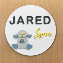 "Load image into Gallery viewer, 24"" Round Name Sign"