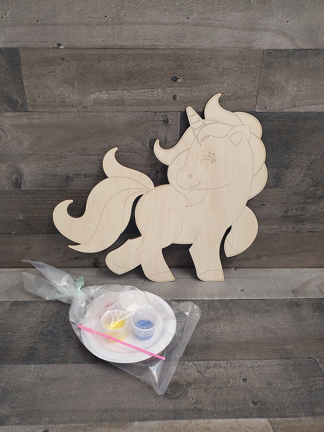Craft Kits- Paintable Wood Cutouts
