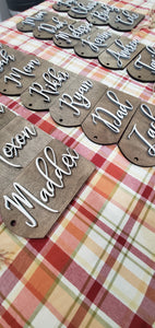 Personalized Stocking Name Tags