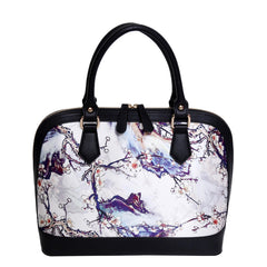 Evelyn - Silk Satchel