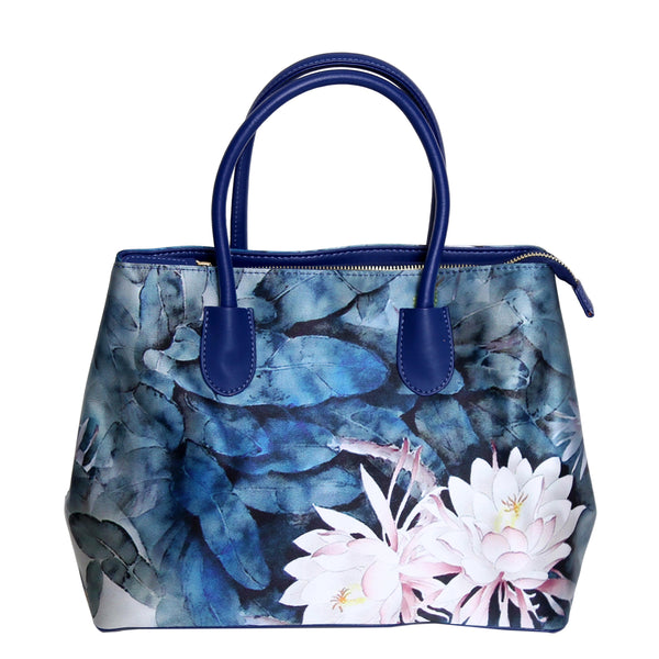 Zora-Handbag-Silk-leather