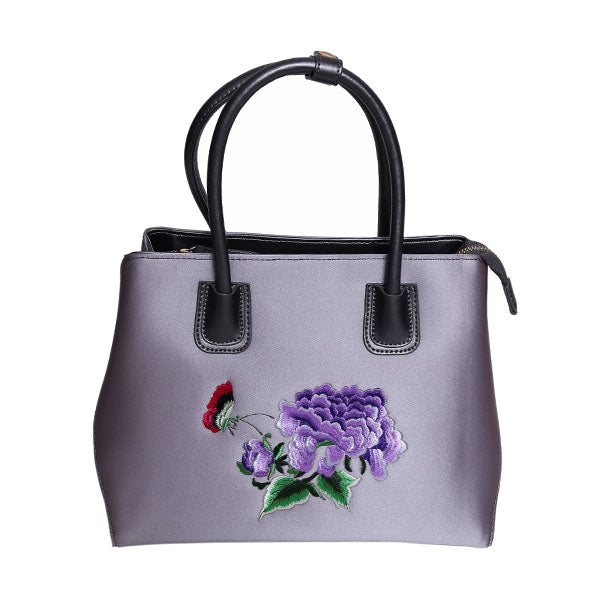 Darlene-silk-leathertte-Tote-Handbag-Ladies