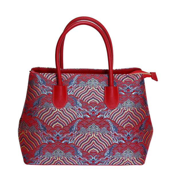 Irina-Handbag-Silk-leather
