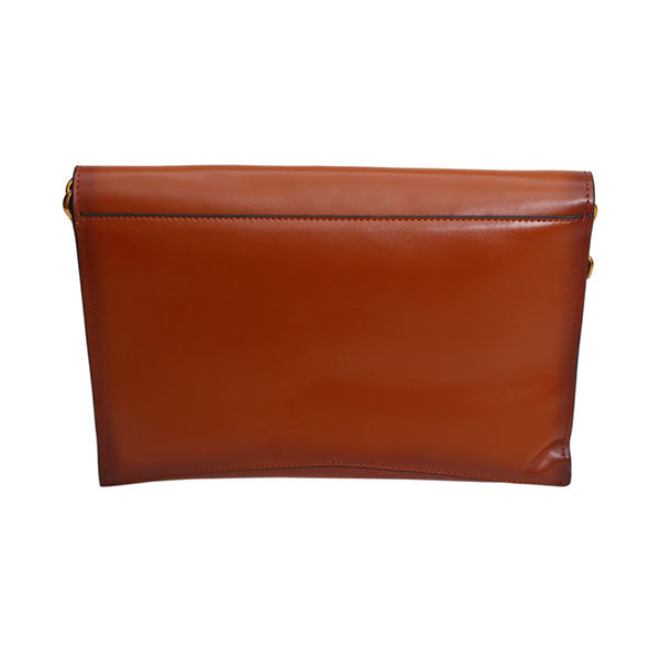 Clementine - Pure Leather Clutch