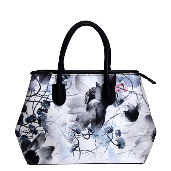 Celeste-Handbag-Silk-leather-tote