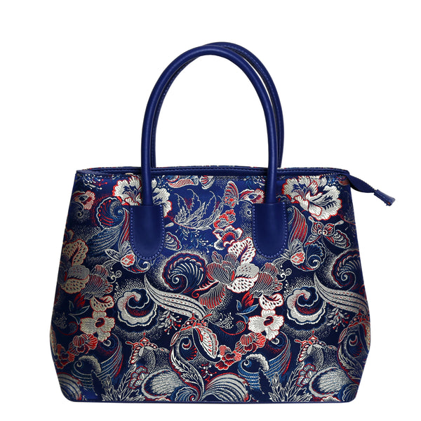 Inez-Handbag-Silk-leather