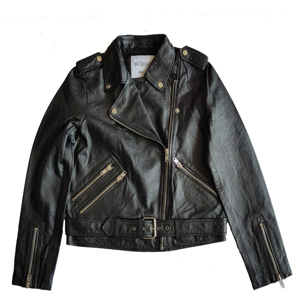 Black Moto Leather Jacket