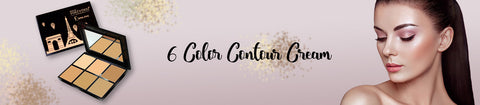 6 Color Contour Cream