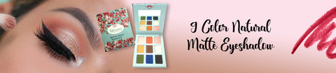 9 Color Natural Matte Eyeshadow