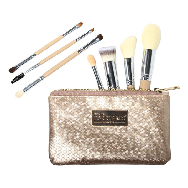 Game changer brush set ( 7 pieces)- X066 GOLD