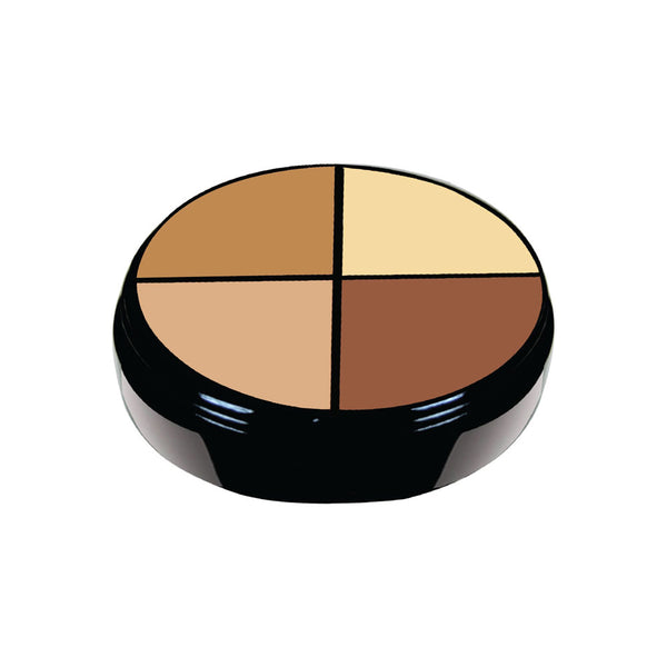 4 Color Concealer Deep Tan- AC002