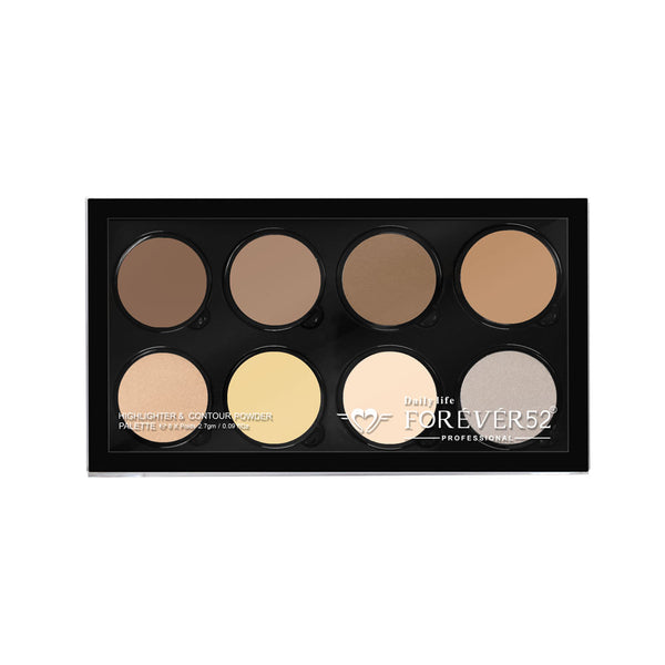 8 Color Highlighter Contour Powder Pro Define And Conceal 1 - FHC001