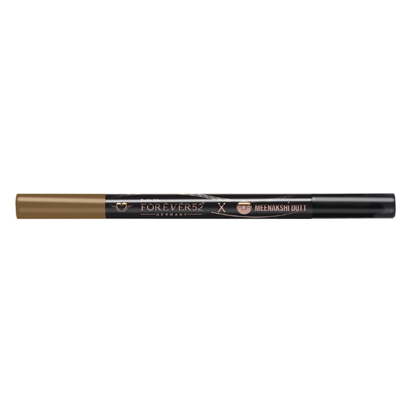Meenakshi Dutt 2 in 1 Eyebrow Eyeliner - AMBER (BROWN)